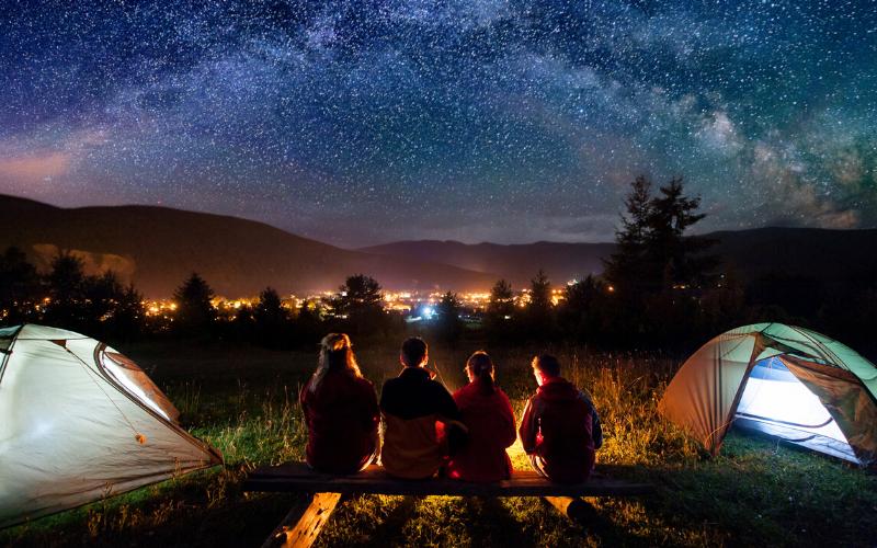 Camping tips & tricks UK