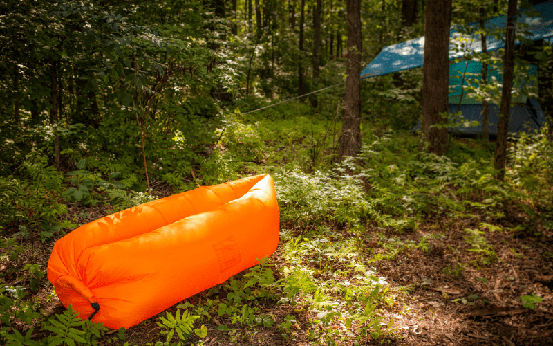 inflatable chair for camping