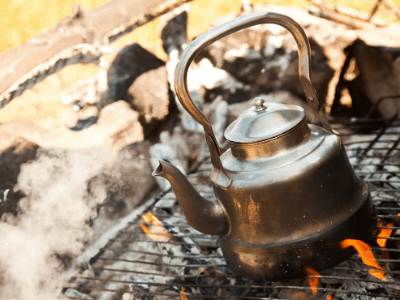 fast boil camping kettle
